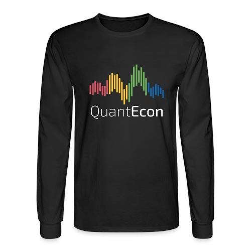 QuantEcon Official Logo #2 - Men's Long Sleeve T-Shirt