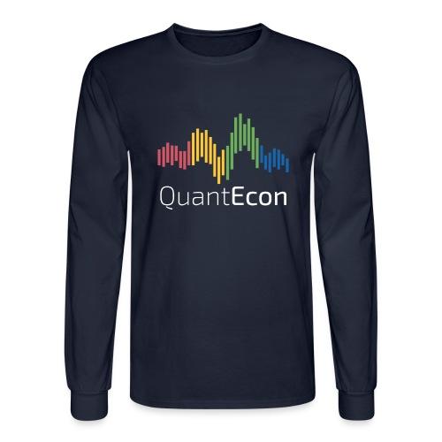 QuantEcon Official Logo #2 - Men's Long Sleeve T-Shirt