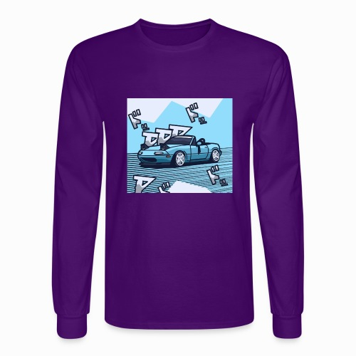Miata Art - Men's Long Sleeve T-Shirt