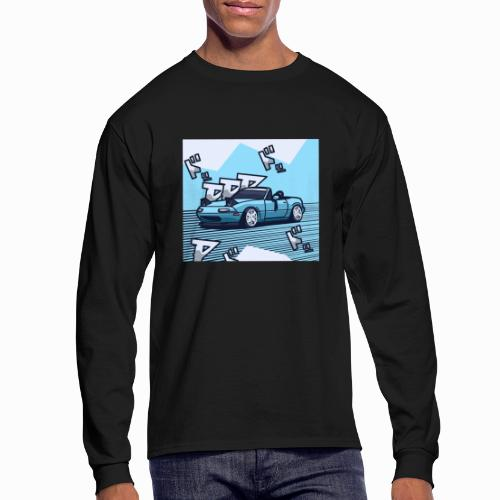 Miata Art - Men's Long Sleeve T-Shirt