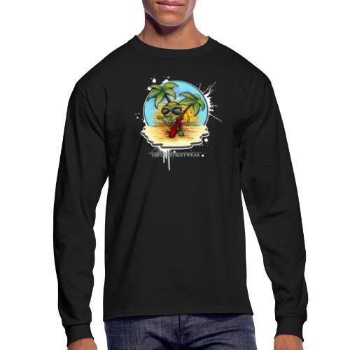 let's have a safe surf home - Men's Long Sleeve T-Shirt