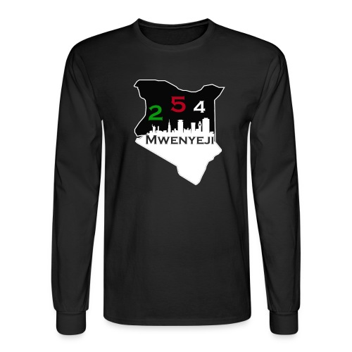 Mwenyeji Wa Kenya - Men's Long Sleeve T-Shirt