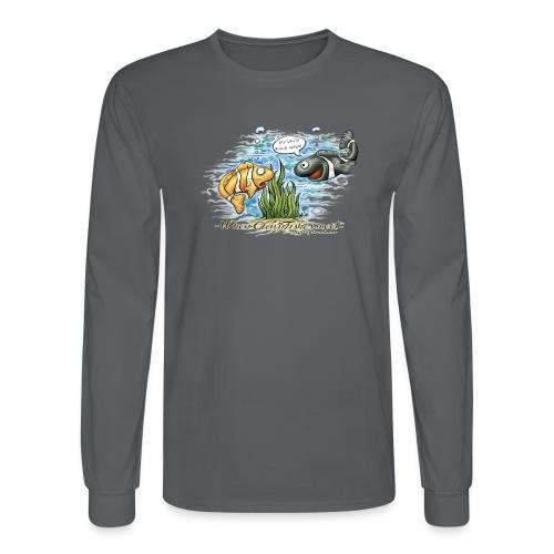 when clownfishes meet - Men's Long Sleeve T-Shirt