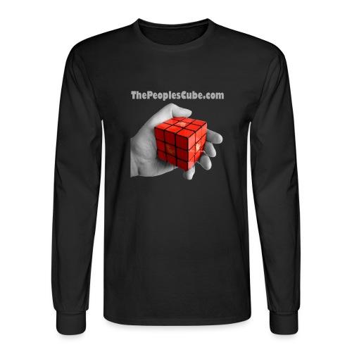 Cube in hand - Men's Long Sleeve T-Shirt