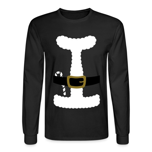 SANTA CLAUS SUIT - Men's Polo Shirt - Men's Long Sleeve T-Shirt