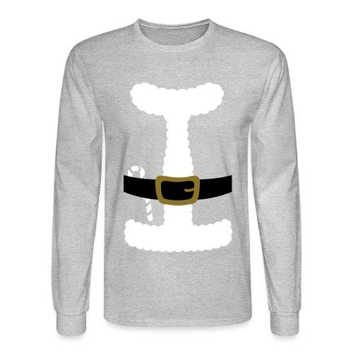 SANTA CLAUS SUIT - Men's Polo Shirt - Men's Long Sleeve T-Shirt