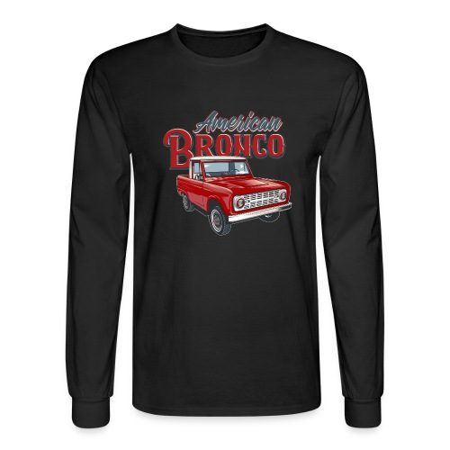 American Bronco Half Cab T-Shirt - Men's Long Sleeve T-Shirt