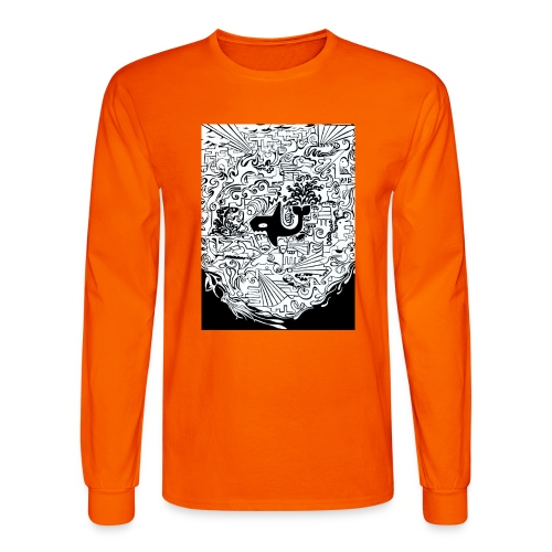night hunt negative - Men's Long Sleeve T-Shirt