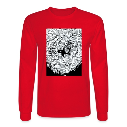 night hunt negative - Men's Long Sleeve T-Shirt