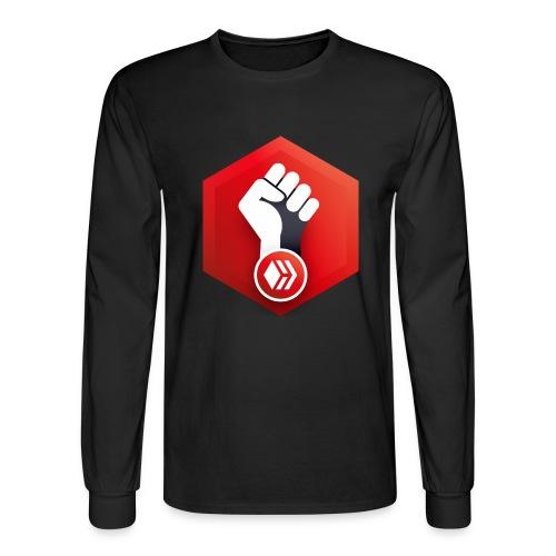 Hive Revolution Logo - Men's Long Sleeve T-Shirt