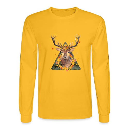 The Spirit of the Forest - Men's Long Sleeve T-Shirt