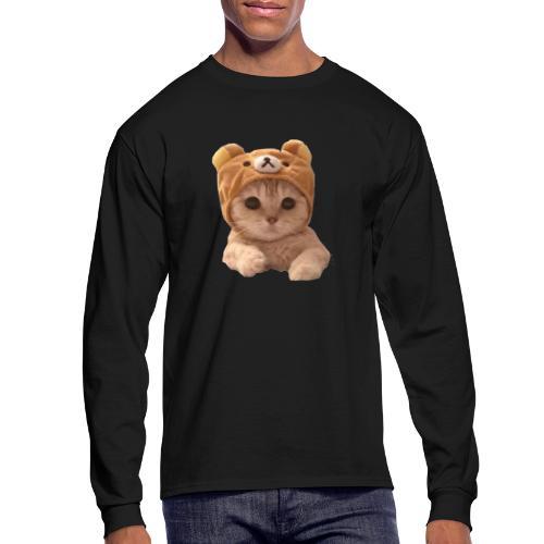 uwu catwifhat - Men's Long Sleeve T-Shirt