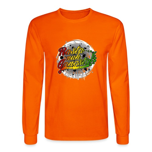 Rasta nuh Gangsta - Men's Long Sleeve T-Shirt