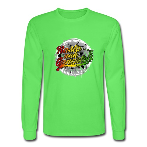 Rasta nuh Gangsta - Men's Long Sleeve T-Shirt