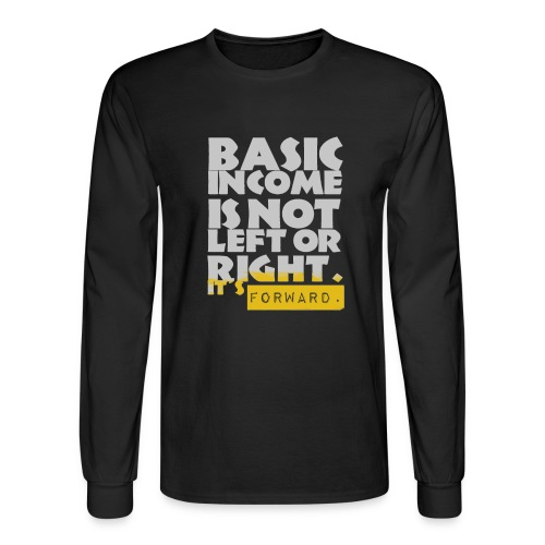 UBI is not Left or Right - Men's Long Sleeve T-Shirt