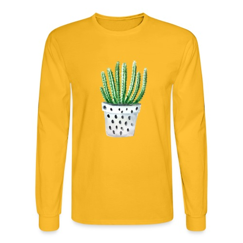 Cactus - Men's Long Sleeve T-Shirt
