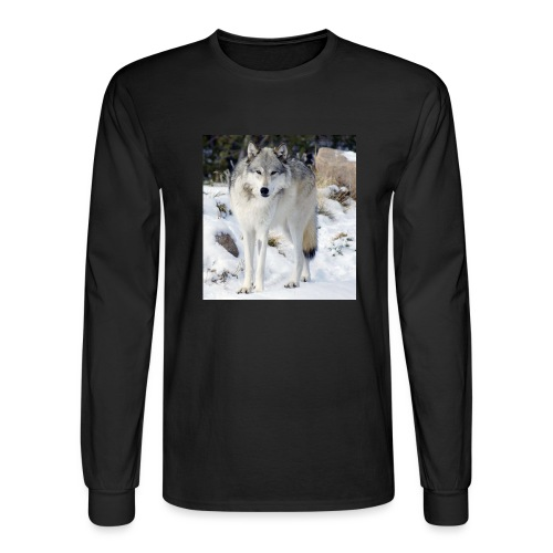 Canis lupus occidentalis - Men's Long Sleeve T-Shirt