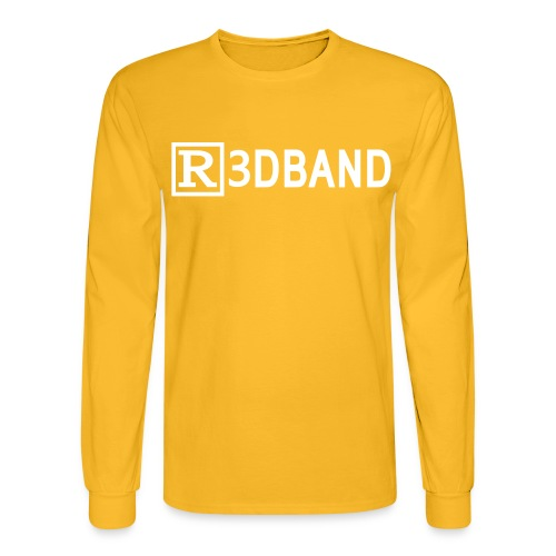 r3dbandtextrd - Men's Long Sleeve T-Shirt