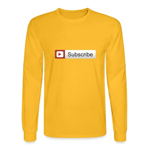 YOUTUBE SUBSCRIBE - Men's Long Sleeve T-Shirt