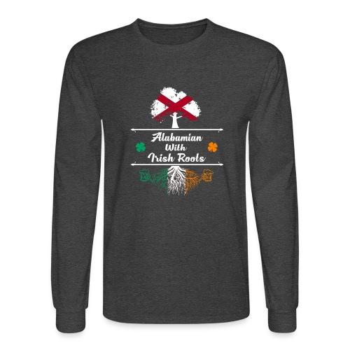 ALABAMIAN WITH IRISH ROOTS - Men's Long Sleeve T-Shirt