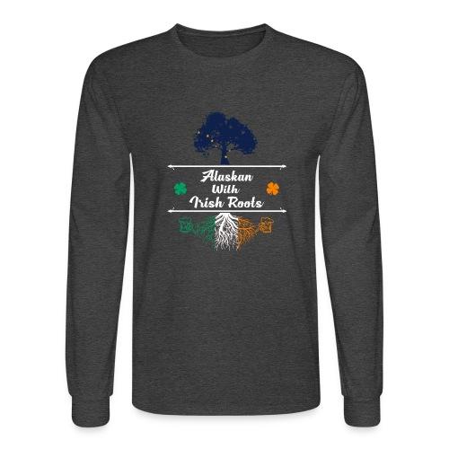 ALASKAN WITH IRISH ROOTS - Men's Long Sleeve T-Shirt