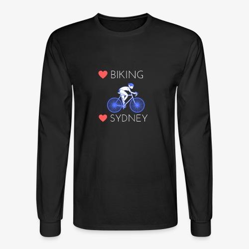 Love Biking Love Sydney tee shirts - Men's Long Sleeve T-Shirt