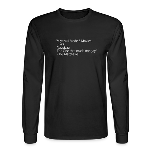 Miyazaki Movies - Men's Long Sleeve T-Shirt