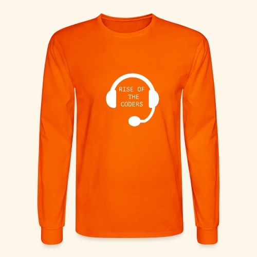 Rise of the Coders - Men's Long Sleeve T-Shirt