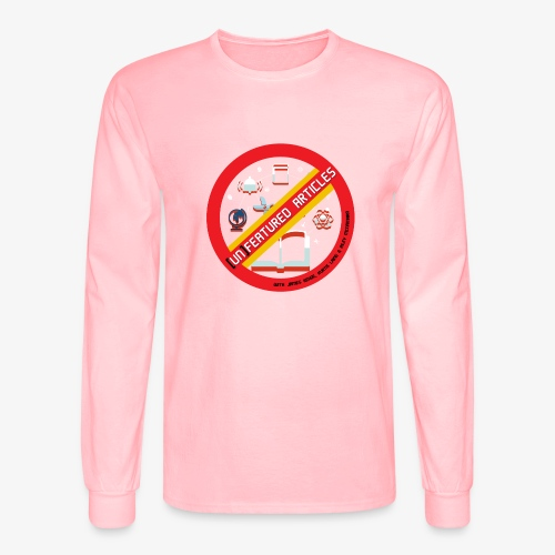 unFeatured Articles Logo - Men's Long Sleeve T-Shirt