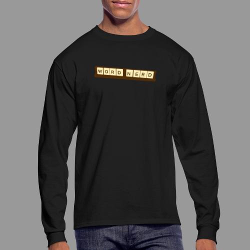 Word Nerd - Men's Long Sleeve T-Shirt