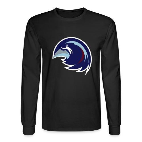 falconsbluegrey - Men's Long Sleeve T-Shirt
