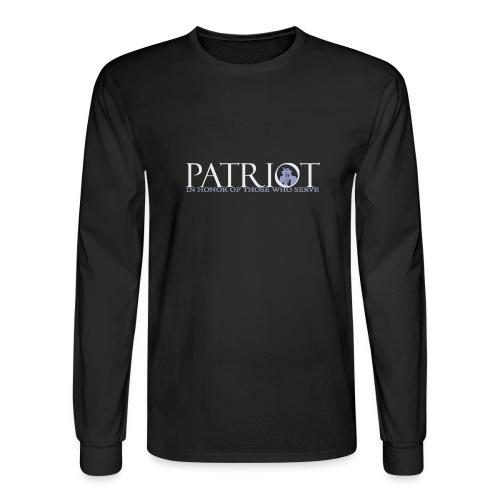 PATRIOT-SAM-USA-LOGO-REVERSE - Men's Long Sleeve T-Shirt