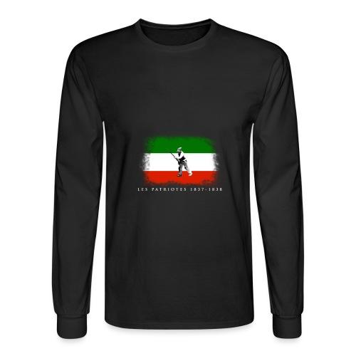 Patriote 1837 1838 - Men's Long Sleeve T-Shirt