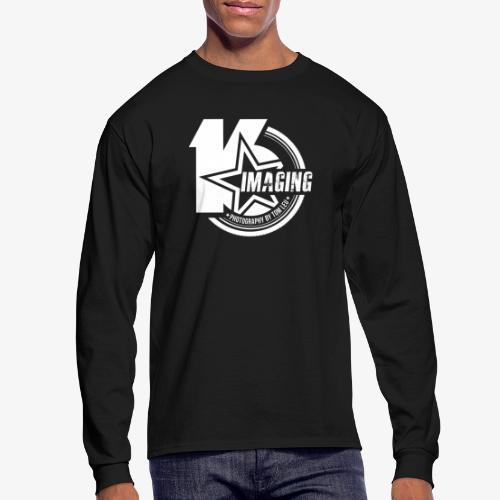 16IMAGING Badge White - Men's Long Sleeve T-Shirt