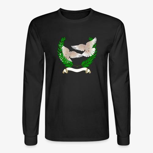 OLIVE BRANCH DOVES - Men's Long Sleeve T-Shirt
