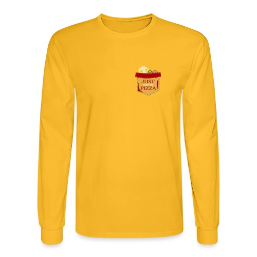Just feed me pizza - Men's Long Sleeve T-Shirt