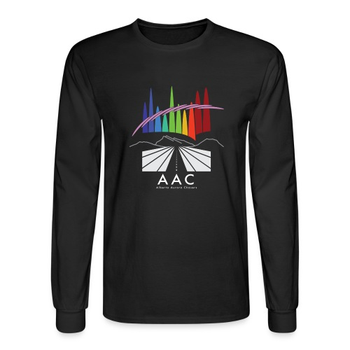 Alberta Aurora Chasers - Men's T-Shirt - Men's Long Sleeve T-Shirt