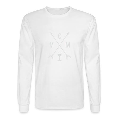 Mom Wine Time - Men's Long Sleeve T-Shirt