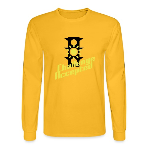 Challenge Accepted - Men's Long Sleeve T-Shirt