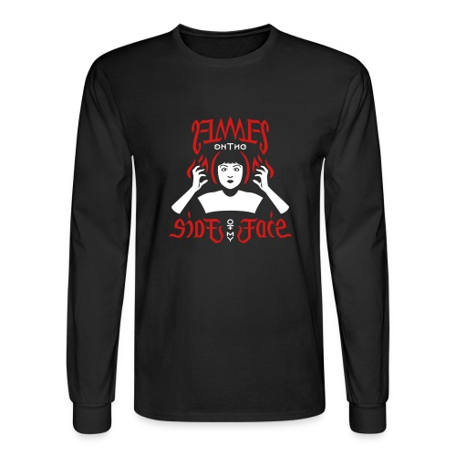 Flames on the Sides of my Face - Men's Long Sleeve T-Shirt