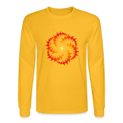 Crop circle - Men's Long Sleeve T-Shirt