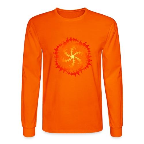 Crop circle - Men's Long Sleeve T-Shirt