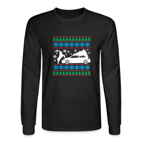 MK6 GTI Ugly Christmas Sweater - Men's Long Sleeve T-Shirt