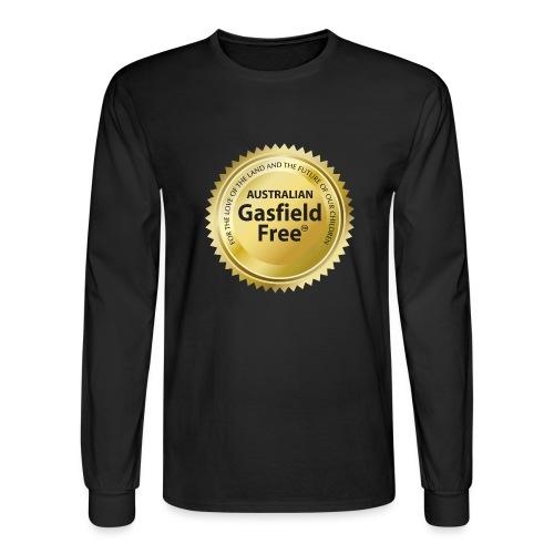 AGF Organic T Shirt - Traditional - Men's Long Sleeve T-Shirt