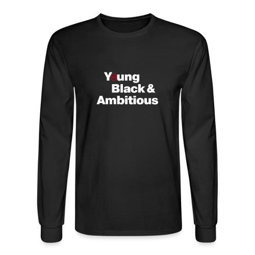YBA Black Shirt2 - Men's Long Sleeve T-Shirt