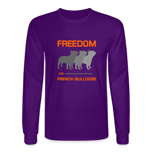 French Bulldogs - Men's Long Sleeve T-Shirt