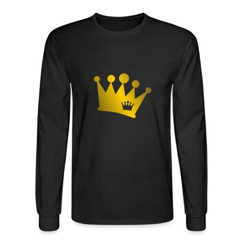 Double Crown gold - Men's Long Sleeve T-Shirt