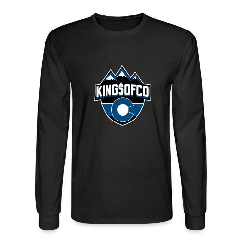 KCO New Logo Clear Background.png - Men's Long Sleeve T-Shirt