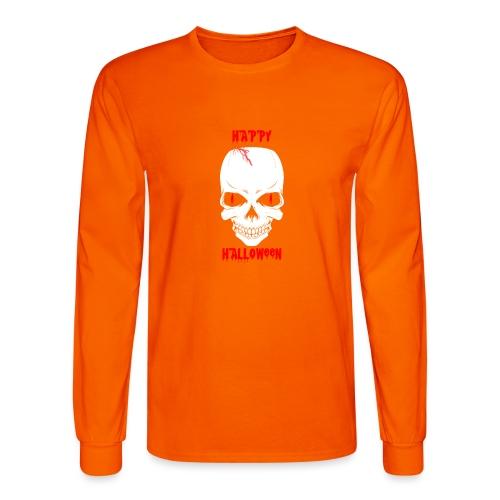 Halloween Skull - Men's Long Sleeve T-Shirt