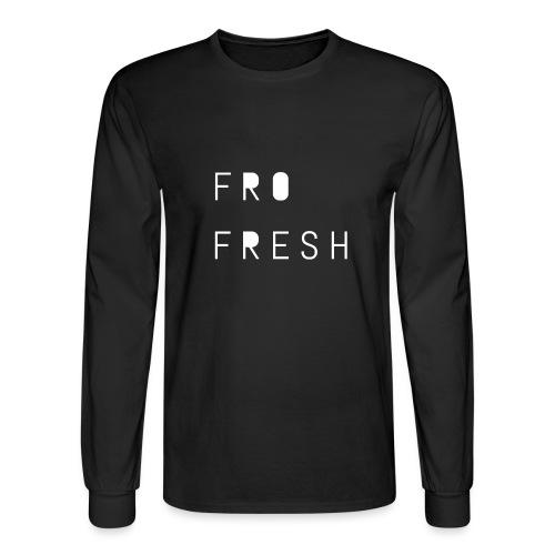 Fro fresh - Men's Long Sleeve T-Shirt